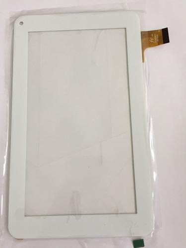 tela vidro touch tablet hyundai hdt 7223 dual cor branco