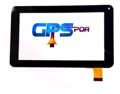 tela vidro touch tablet lenoxx tb 5400 7 polegadas 30 vias