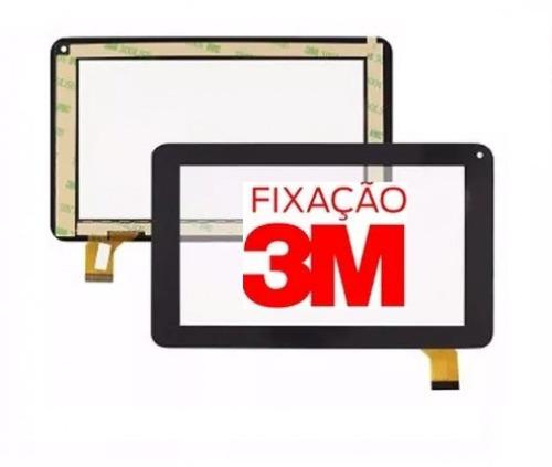 tela vidro touch tablet philco ph7g a211a b211a 7 polegadas