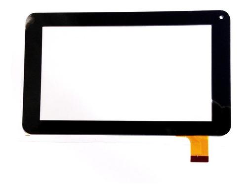 tela vidro touch tablet qbex zupin tx120 7 polegadas