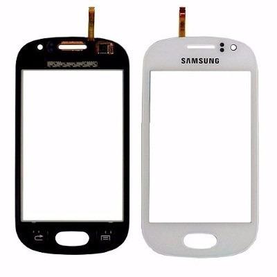 tela vidro touchscreen samsung s6810 s6812 galaxy fame duos