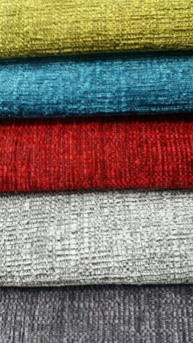 Tela x metros para tapicer a de muebles varios colores - Telas chenille para tapizar ...