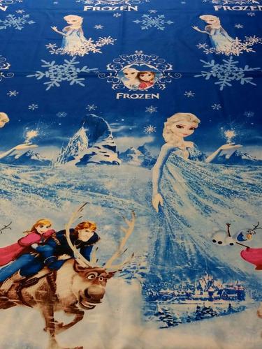 tela x metros telas infantiles polialgodón frozen