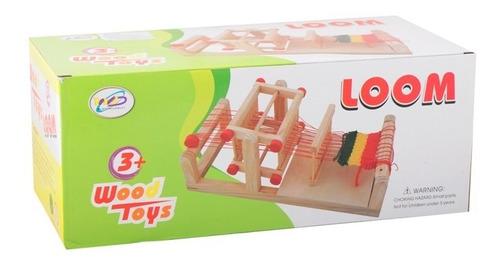 telar madera niños ref. mck6200