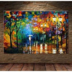 b2122d597 Tela Pintura Oleo Paisagem Urbana Arte Moderna no Mercado Livre Brasil