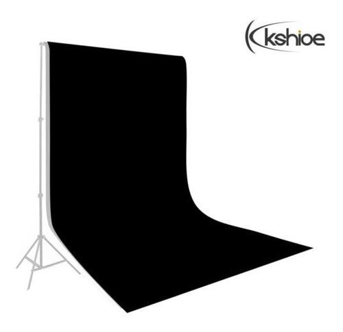 telas no tejidas de 5 * 10ft fotografía pantalla negro telón
