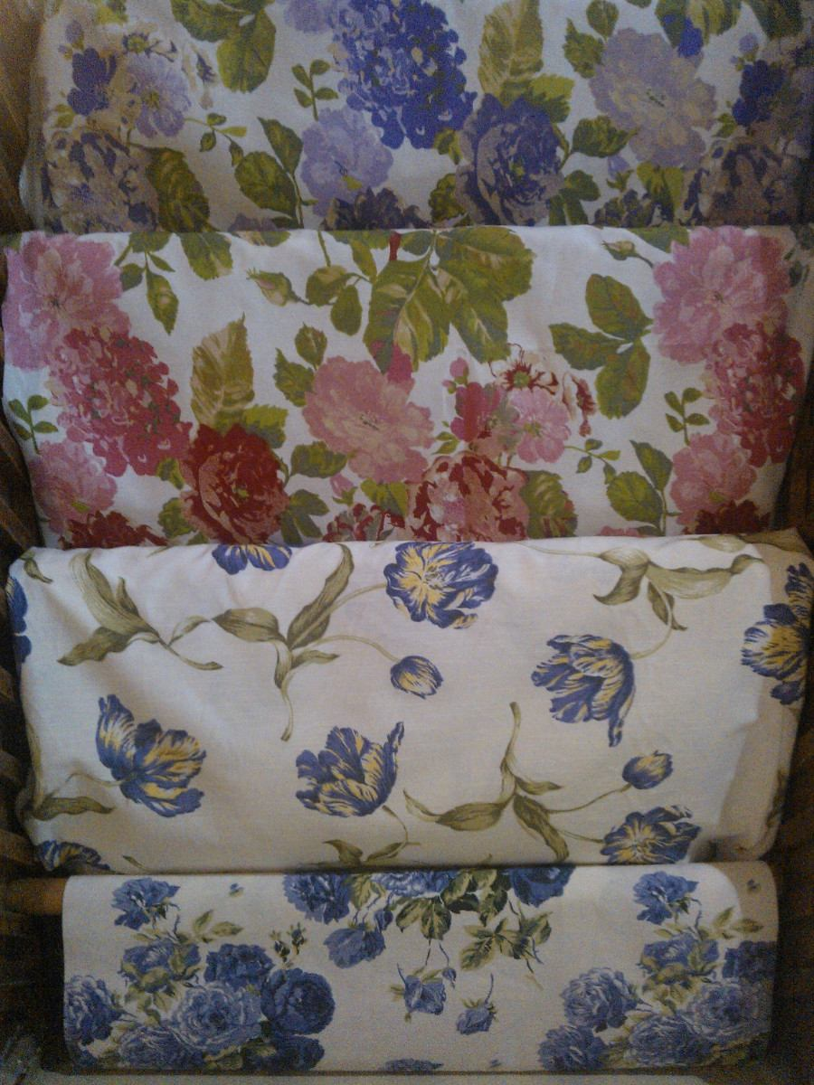 Tela cortina cocina estilo patchwork antiguo pas de la for Telas cortinas cocina modernas