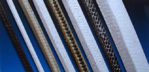 telas y cintas aislantes, cordones y empaquetaduras