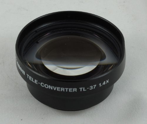 tele converter de video canon tl-37 1.4x