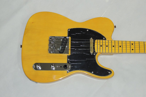Tele Fender Madeira Made In China Caps Wilkinson Top Disponi