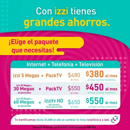 telecomunicaciones izzi