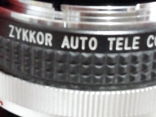 teleconverter zykkor 2x for cf.
