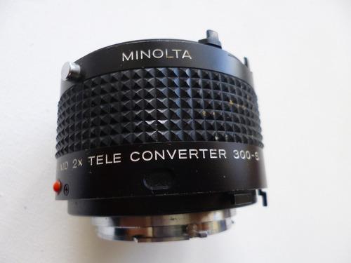 teleconvertidor 2x  md  para minolta manual
