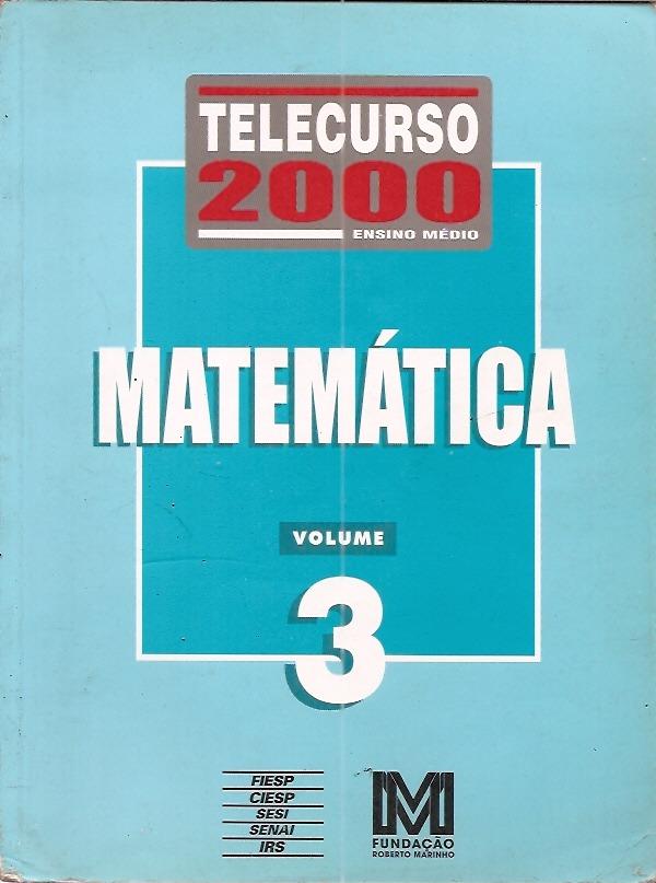 telecurso 2000 matematica