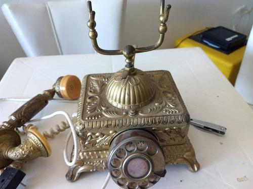 telefone antigo 1978 ferro funcionando