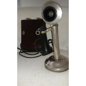 Telefone Castiçal Original 1920/30 Raridade
