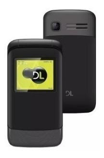 telefone celular flip dl yc-230 dual chip original durável