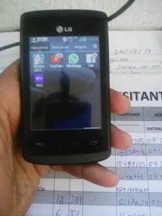telefone celular lg optimus
