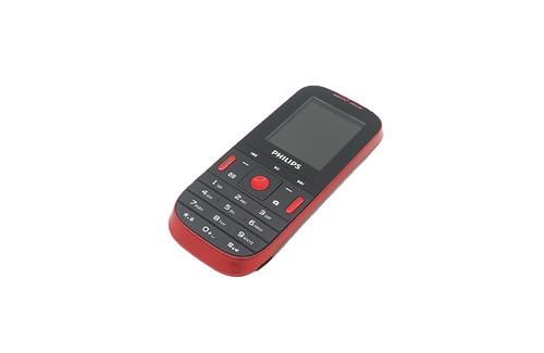 telefone celular philips dois chips com câmera original e132