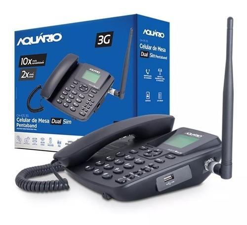 telefone celular rural aquário ca-42s 3g  ** desbloqueado **