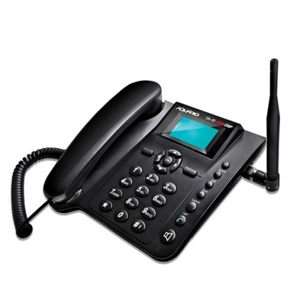 telefone celular rural de mesa dual aquário ca-42 s/ juros
