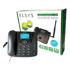 Telefone Celular Rural Mesa Elsys 2 Chip Desbloqueado Epfs12