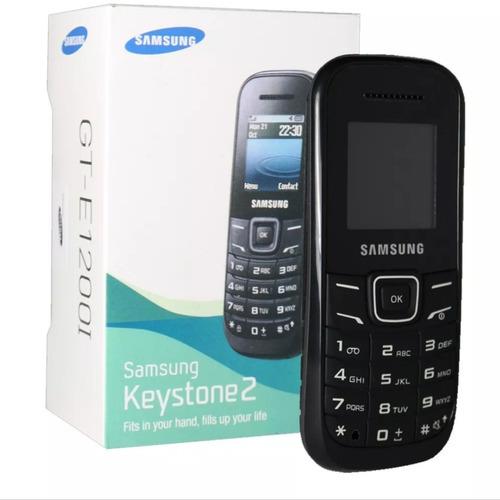 telefone celular samsung gt e1207y radio fm preto