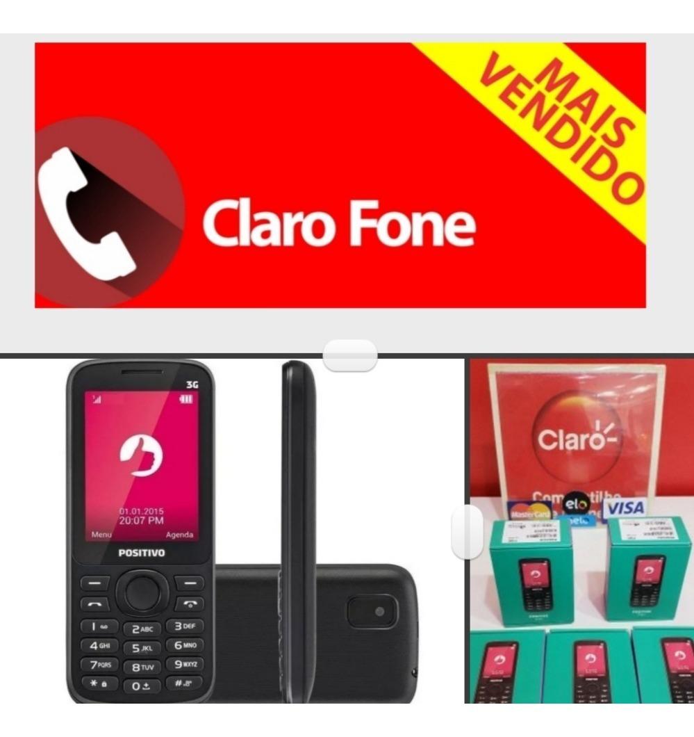 80dd3ac2861 Telefone Claro Fixo 3g Positivo P30 Claro Fone Gsm - R$ 169,99 em ...