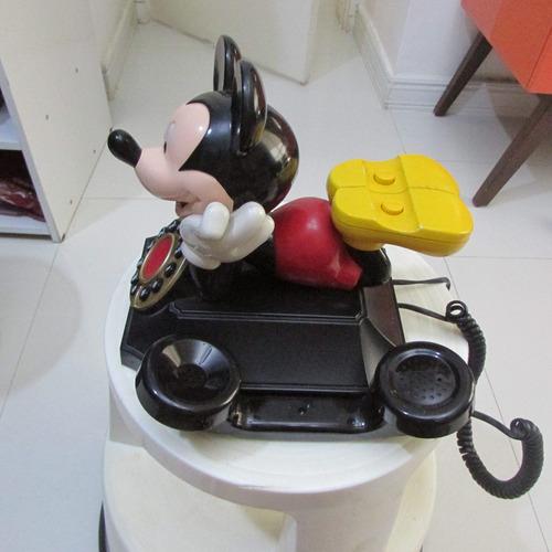 telefone do mickey antigo funcionando disney