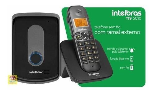 telefone interfone sem fio ramal externo intelbras tis 5010