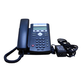 Telefone Ip Sip Poe Polycom Soundpoint Ip331+fonte