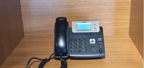 telefone ip yealink t21p   pack com 10 unidades