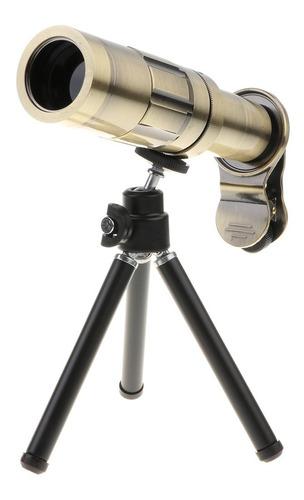 telefone lente 20 x zoom hd telephoto lente com tripé para t
