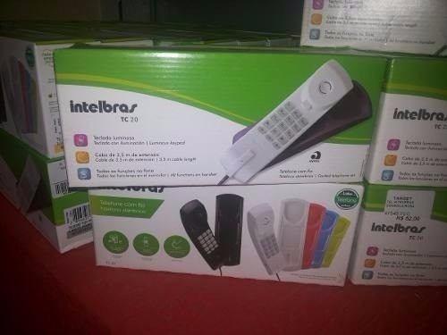 telefone portaria com fio intelbras tc20 cz art/ rosa