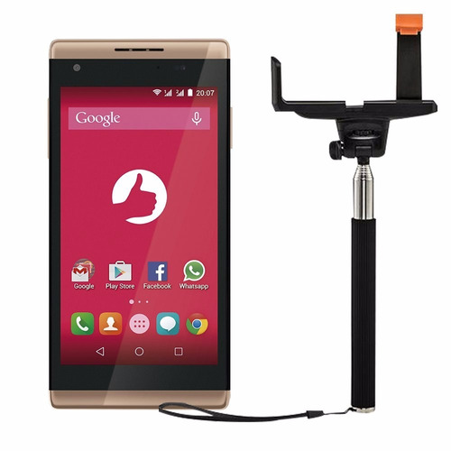 telefone positivo selfie s455 8gb 4.5'' com bastão de selfie