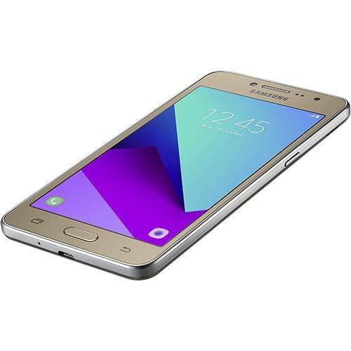 telefone samsung galaxy j2 16g prime 4g tv digital dourado