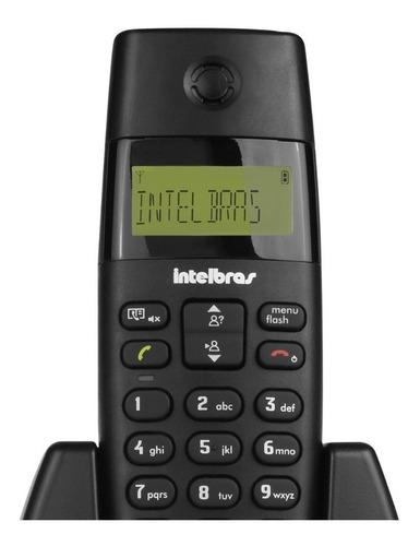 telefone sem fio intelbras com ramal ts40c telefone+ramal