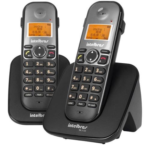 telefone sem fio intelbras com viva voz com ramal ts 5122