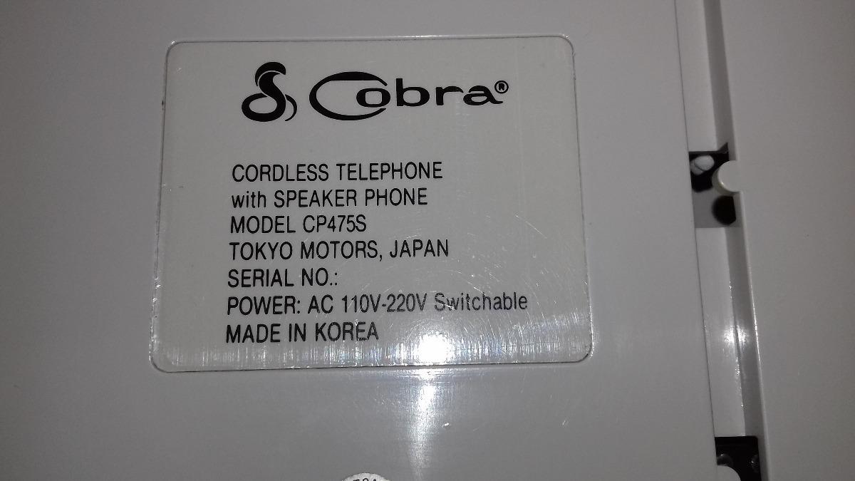 3684eba45 telefone sem fio - marca cobra - antigo - vintage (c). Carregando zoom.