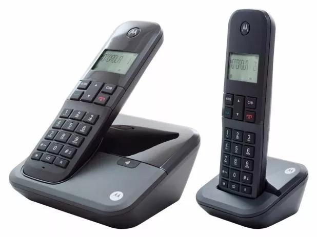 09d7c0bd2 Telefone Sem Fio Motorola Moto 3000+ 1 Ramal Frete Gratis - R$ 158,90 em  Mercado Livre