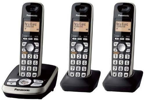 8b544e1cd Telefone Sem Fio Panasonic Base + 2 Ramais - R  570