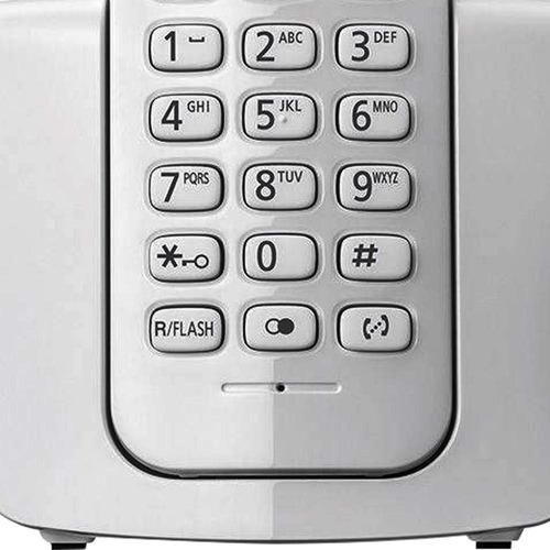 telefone sem fio panasonic identificador de chamadas agenda