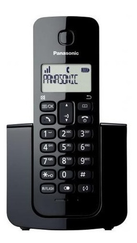 telefone sem fio panasonic kx-tgb110lbb c/ nfe