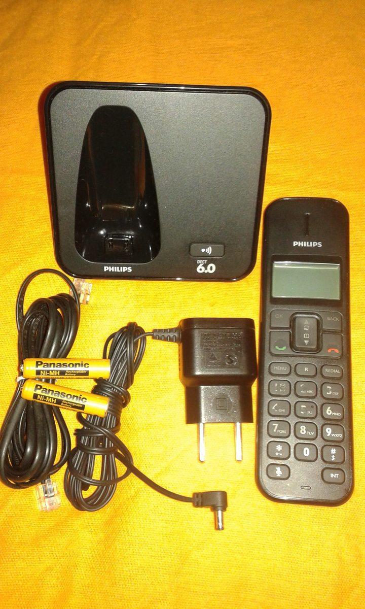 telefone sem fio philips se170 usado funcionando perfeitamen r 40 rh produto mercadolivre com br