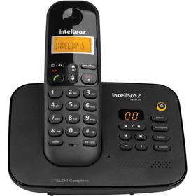 Telefone S/fio Secretária+bloqueio D Teclado+grava Conversas