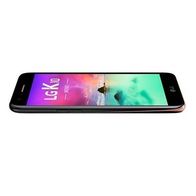 telefone smartphone lg k10 m250ds preto, dual chip tela 5.3