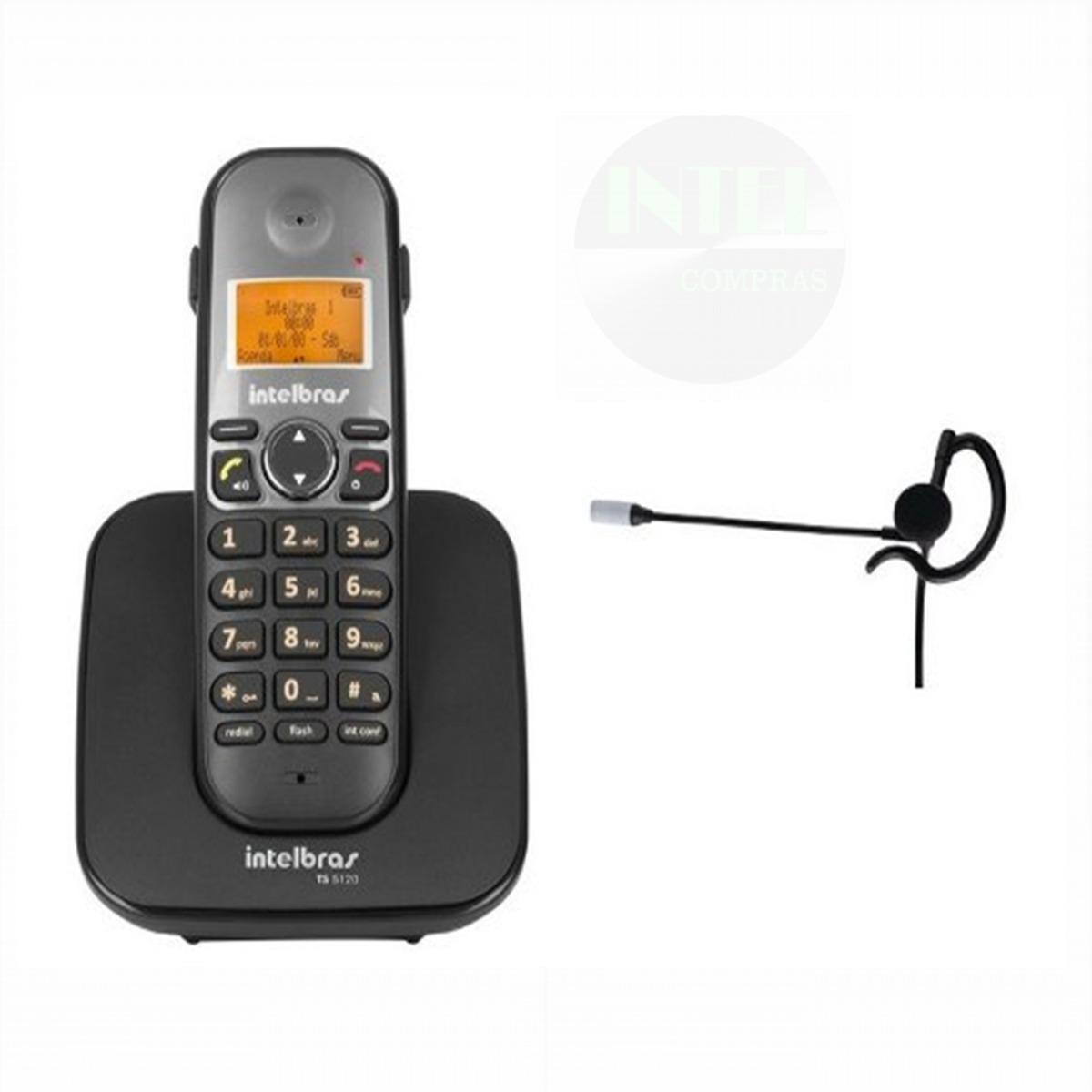 9f95c8309 telefone ts 5120 com fone ouvido hc 10 intelbras nf-e. Carregando zoom.