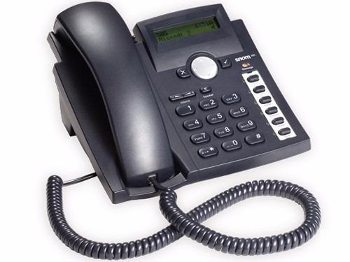telefone voip snom 300 4 contas sip astrisk elastix