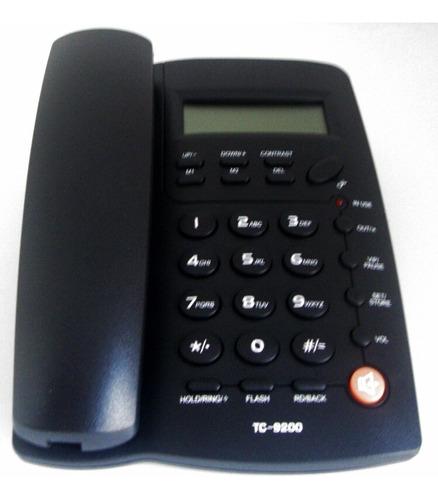 telefono alambrico con altavoz homedesk tc-9200