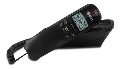 teléfono alámbrico con identificador at&t tr1909